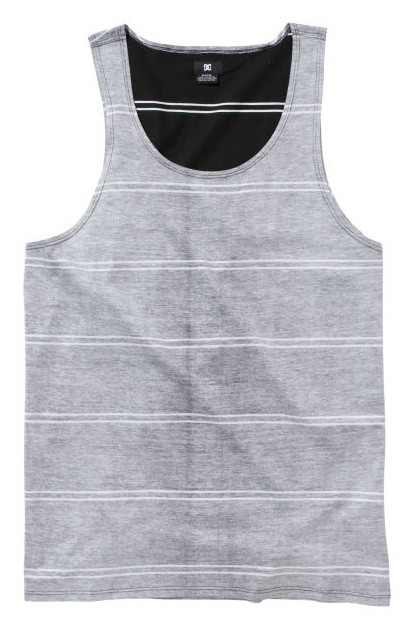 Skateboard Key Features of the DC Hawkland Tank: Cotton Jersey push through print DC Custom trim package 100% Cotton - $19.50