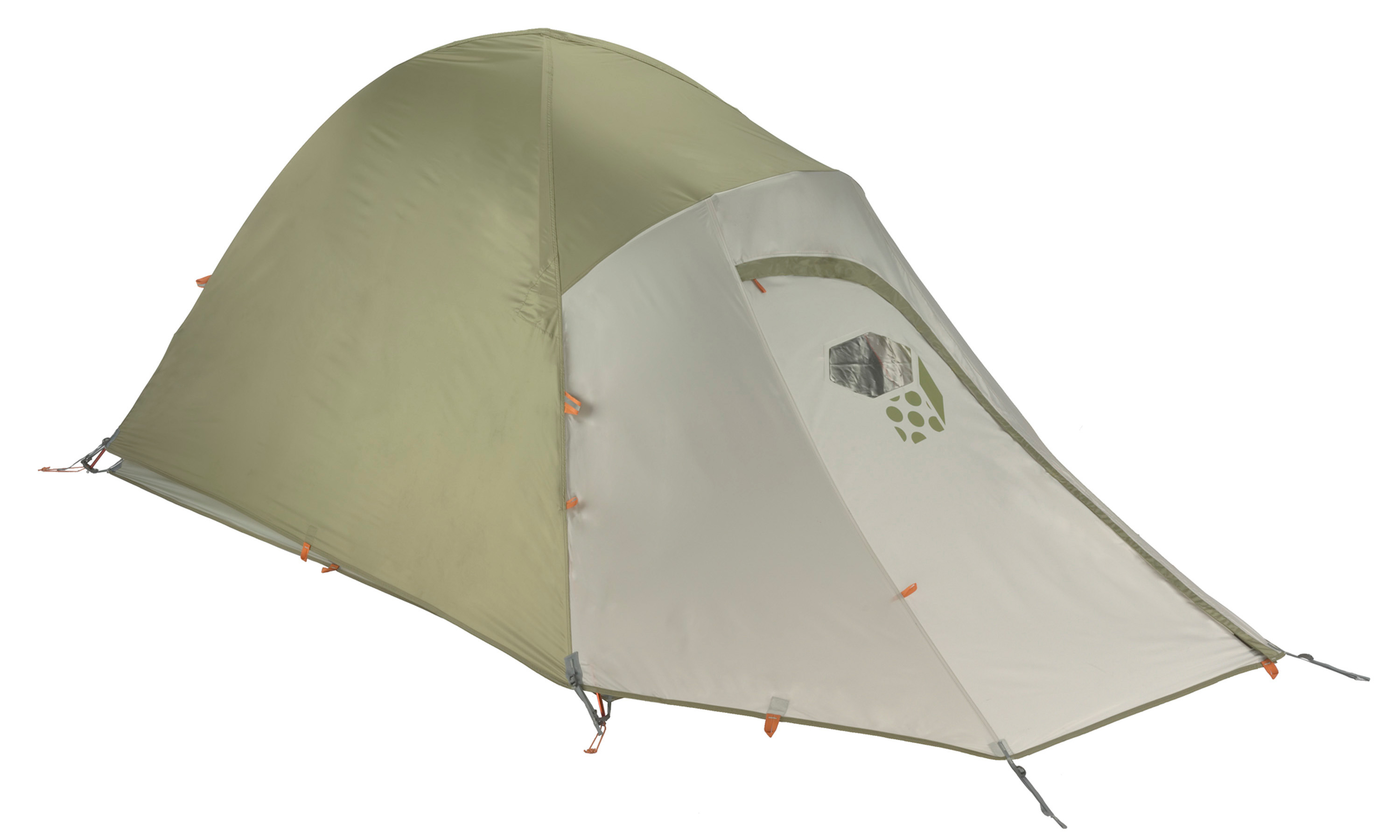 "Camp and Hike Light Wedge tents are simple backpacking tents for two or three. Featuring Mountain Hardwear's patented tension shelf for strength and storage, the 70D nylon and mesh canopy has a single, D-shaped door, two mesh ceiling vents and one rear vent. DAC poles are strong and light. Guaranteed watertight construction. Superlight option: pitch with fly and Pitch Light footprint to shave pounds. Footprint sold separately.Industry leading DAC Press fit poles Guaranteed watertight construction with fully taped fly, taped perimeter seam, welded corners and welded guy clip anchors. Rain room tested with 1200"" of rain in 24 hours Proprietary Evolution Tension Arch stabilizes tent using fewer poles 2-pole wedge design is lightweight and roomy Large dry entry vestibule with a strong aluminum brow pole provides ample head room Tension Shelf provides strength, support for vestibule pole, and 3-D storage Full-size mesh door with dual slider zipper for easy entry and ventilation Reflective guy-out loops, starter points and zipper pulls for easy set-up at night Superlight 1/4"" buckles and webbing reduce tent weight Color coded pole loops for easy set up Pitch Light configuration allows user to set up a superlight shelter using only the tent fly, poles and footprint (sold separately  Our popular Light Wedge tents have a proven simple design for backpacking and camping Capacity: 3 Minimum Weight: 5 lb 10 oz/ 2.55kg Packed Weight: 6 lb 5 oz/ 2.85kg Tent Floor: 70D Nylon Taffeta 3,000mm PU Poles: DAC Press fit poles Canopy: 20D Nylon Knit Mesh; 68D Polyester Ripstop DWR Reinforcement: 68D Polyester Ripstop, DWR,  Fly: 75D Polyester Taffeta 1,500mm PU Floor Area: 44 sq ft/ 4.1m2 Number Of Doors: 1 Number Of Poles: 2 Number Of Vestibules: 1 Interior Height: 47""/ 119cm Packed Diameter: 7 in/ 19cm Packed Length: 21 in/ 53cm Pitch Light Weight: 4 lb 7 oz/ 2.02kg - $263.95"