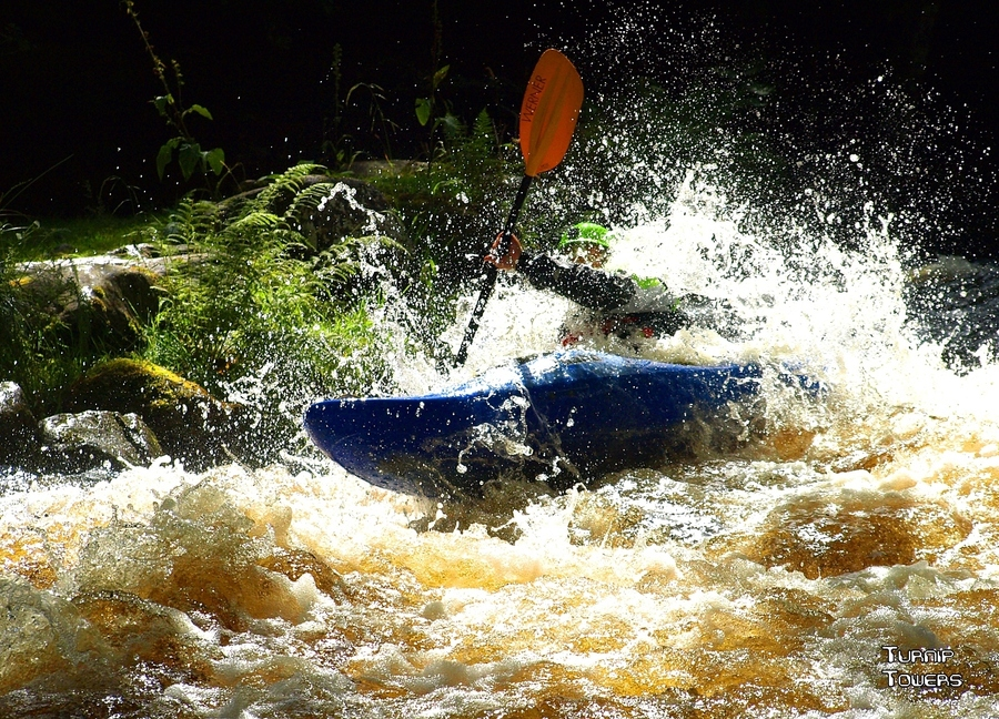 Kayak and Canoe Whitewater