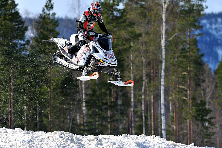 Snowmobile Sweet Jump
