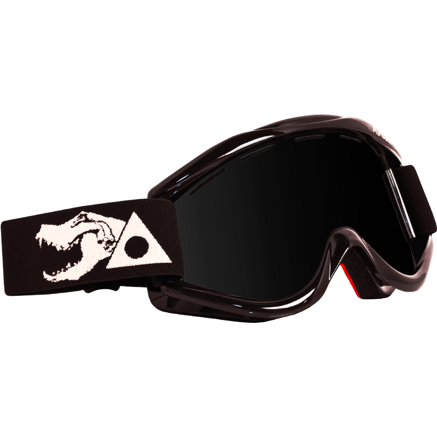 Snowboard The Ashbury Kaleidoscope Goggles in Black Skull are the perfect example of style and functionality incorporated into one exceptional frame. The Kaleidoscope comes with a free additional lens for those days when the weather wants to battle you. They have also incorporated their snap fit lens technology for quick and easy lens changing as well as full perimeter venting to prevent fog in all conditions. This frame is helmet compatible yet still allows a wide range of vision. The Kaleidoscope now has hypoallergenic ultra-soft red face foam for maximum comfort. Enjoy the mountains with a clear view through the Ashbury Kaleidoscope goggles. - $89.95