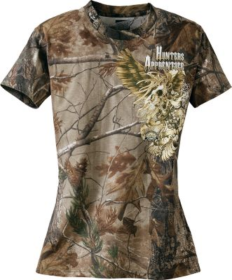 Hunting Equip your young hunters with the perfect camo and logo that separate them from all their friends. Crafted of a durable 60/40 cotton/polyester fabric. Imported. Sizes: S-XL.Camo pattern: Realtree AP . - $14.88