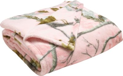 Hunting The camouflage patterns and the warming softness of fleece make these throws a winner. Perfectly sized for versatile warmth as a blanket or for draping over the back of a chair, sofa or bed. 100% polyester coral fleece. Machine wash cold. Tumble dry low. Imported. Dimensions: 50 L x 60 W. Camo patterns: Realtree APC (Pink), Realtree APC (Black), Realtree AP. Color: Camouflage. Type: Throws. - $7.99
