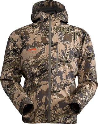 Hunting Sitkas most lightweight, packable rain jacket for surviving the most demanding backcountry conditions. Offering maximum performance in a minimalist design, its two-way-stretch nylon GORE-TEX shell offers waterproof, breathable comfort and a durable water-resistant finish that beads moisture on contact. Welded waterproof zippers prevent leaks. Pit zips for on-demand ventilation and thermal regulation. Chest pocket doubles as a stuff sack for space-saving convenience. Adjustable cuffs. Imported. Sizes: M-2XL. Camo pattern/color: OptiFade Concealment Open Country, Lead. Size: XL. Color: Optifade Open Cntry. Gender: Male. Age Group: Adult. Pattern: Camo. Material: Nylon. - $399.00
