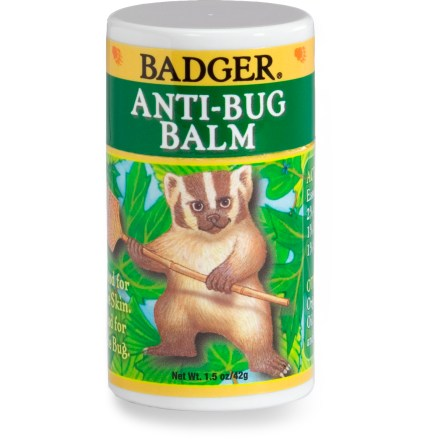 Camp and Hike Keep biting insects at bay and soothe your dry skin with Badger Anti-Bug Balm. - $8.93