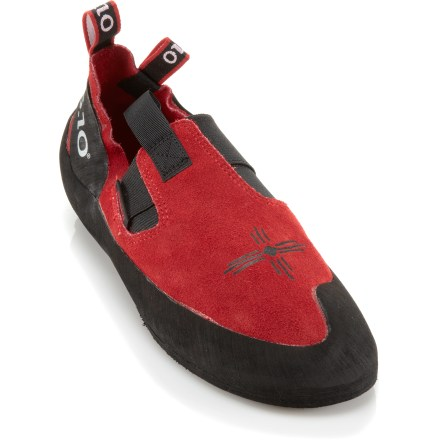 Climbing Climbers have sworn by the Five Ten Anasazi Moccasym(TM) rock shoes for nearly 20 years. The reason? They deliver performance, comfort and superb grip on all types of rock. - $125.00