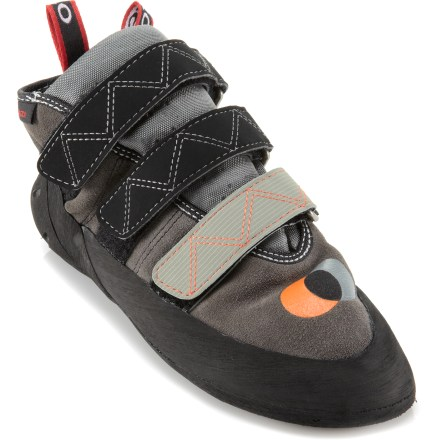 Climbing The Five Ten Anasazi Hi-Top rock shoes were born in Yosemite and built to handle 30 pitches in a day on El Capitan or bouldering for an afternoon at Camp 4. - $84.93