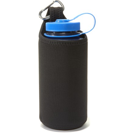 Camp and Hike The Nalgene Insulated Neoprene Bottle Clothing sleeve keeps your 32 fl. oz. Nalgene water bottle (sold separately) from freezing on the coldest winter days. - $9.95