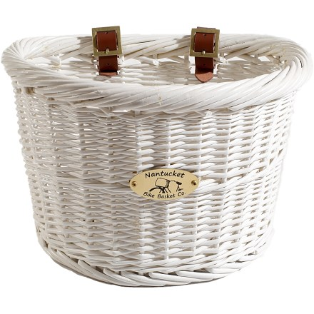 Fitness The Nantucket Cruiser D-Shape bike basket is designed with the classic cruiser bicycle in mind, offering timeless appeal and everyday functionality. - $64.00