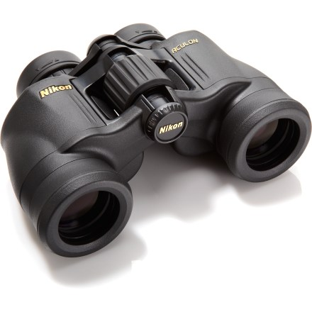Camp and Hike The Nikon ACULON A211 7 x 35 binoculars build on the proven performance of the popular Action series with bright, sharp imagery and ergonomic comfort for a wide range of outdoor pursuits. - $49.93