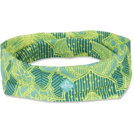 The prAna Large headband keeps your hair in place and the sweat out of your eyes during a workout. - $5.83