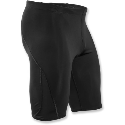 Fitness Whether training or competing in a triathlon, the Sugoi RPM Jammer swimsuit offers a sleek, supportive fit for your PR pursuits. - $24.83