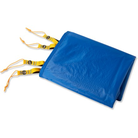 Camp and Hike Use this nylon footprint under The North Face Kings Canyon 2 tent to protect its floor from abrasion and wear. - $27.93