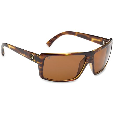Camp and Hike Made in Italy, the VonZipper Snark polarized sunglasses offer durability, optical precision and full-spectrum glare elimination--all without distortion. - $120.00