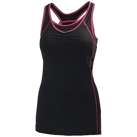 Surf Free Shipping. Helly Hansen Women's Harmony Tank Top DECENT FEATURES of the Helly Hansen Women's Harmony Tank Top Quick dry fabric Polyamide Elastane UPF 30+ Regular fit Athletic back construction HH outline logo on chest The SPECS 95% Polyamide 5% Elastane This product can only be shipped within the United States. Please don't hate us. - $59.95