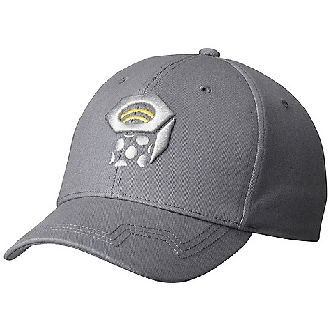 Mountain Hardwear Nut Team Logo Ball Cap DECENT FEATURES of the Mountain Hardwear Nut Team Logo Ball Cap Eyelets at crown provide ventilation Rear buckle adjustment The SPECS Average Weight: 4 oz / 105 g Body: Cotton Woven (100% cotton) - $27.95