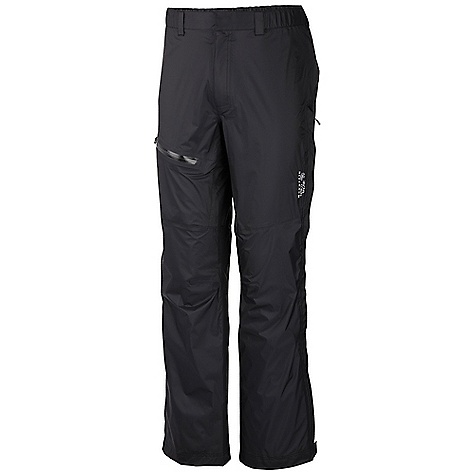 Free Shipping. Mountain Hardwear Men's Alkane Pant DECENT FEATURES of the Mountain Hardwear Men's Alkane Pant Dry.Q EVAP accelerates evaporation for more breathability and comfort Water resistant zippered thigh pocket 3-slider 3/4 length side zips for venting options and easy on/off Elastic waist band with belt loops for customized fit The SPECS Average Weight: 9 oz / 259 g Inseam: 32in. / 81 cm Body: Dry.Q EVAP 30D 2.5L Ripstop (100% nylon) - $139.95