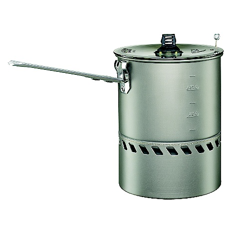 Free Shipping. MSR Reactor 1.0L Pot DECENT FEATURES of the MSR Reactor 1.0L Pot For trips with 1-2 people, or anywhere weight and space are at a premium. Includes clear, BPA-free Strainer Lid and folding/locking handle. Hard-anodized aluminum Proprietary heat exchanger that fully encloses the Reactor stove's radiant burner Windproof design maintains functionality in all conditions The SPECS Weight: 8.1 oz / 230 g Packed Size: 4.75 x 6.1 in / 12 x 15.5 cm Compatible with MSR Reactor Stove only This product can only be shipped within the United States. Please don't hate us. - $69.95