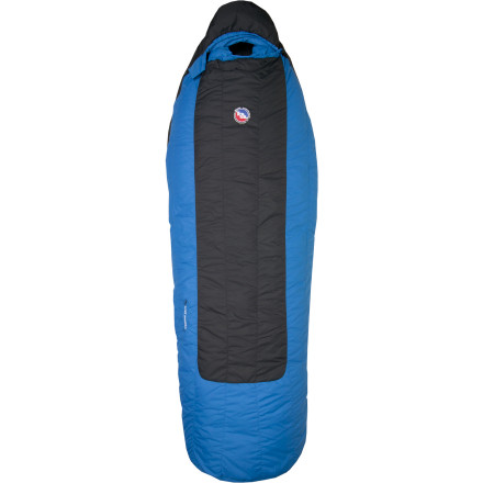 Camp and Hike Big Agnes designed the Lost Ranger 15-Degree Down Sleeping Bag to maximize the efficiency of its materials, so it milks all the performance possible out of the lightest, most compact construction possible. That means you stay more comfortable in the bag and while you hike. The Lost Ranger also has Big Agnes' famous sleeping pad pocket and insulation-free bottom so you never roll off your sleeping pad again and you don't have to carry around a bunch of unnecessary insulation. - $239.95
