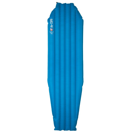 Camp and Hike Big Agnes added Primaloft synergy to its popular Air Core Sleeping Pad to create a true three-season sleeping pad that's designed to keep you cool in the summer and warm in the winter. This lightweight, compact sleeping pad is a perfect complement to Big Agnes' three-season or winter bags, and, once deflated, packs down small enough that it won't use up much valuable pack space. - $89.95