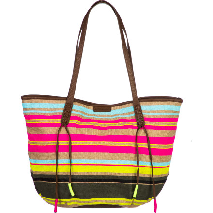 Surf Pack the Billabong More Please Tote Bag with your lounging essentials and make your way to the beach and pool for some much-needed sun and rest. - $42.03