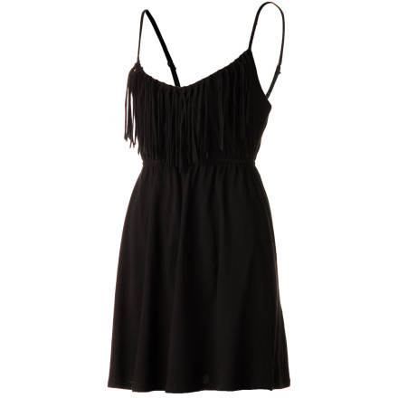 Surf Whoever said that life's simple pleasures are the best must have had the Billabong Women's Spell On Me Dress. This clean, straightforward little black dress is a pleasure to wear, both for it's disarmingly direct good looks as for its soft, comfortable feel and easy-wear design. - $39.45