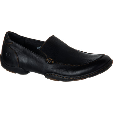 Not only does the Born Men's Hayden Shoe have a slightly sporty and fully stylish moc design, but it also has unmistakable quality. The Hayden is hand-crafted to last. With a full-grain leather upper, leather lining, and Opanka construction, the Hayden will rarely see the inside of your closet. - $87.96