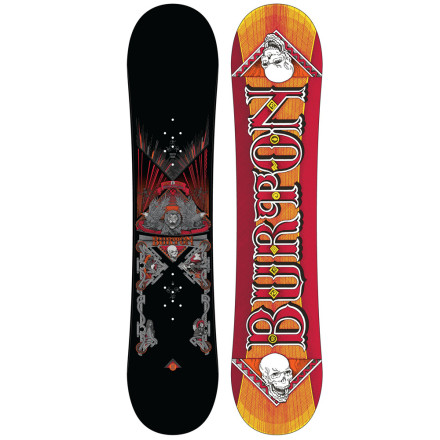 Snowboard Hook-up your already-killin'-it offspring with the Burton Kids' TWC Smalls Snowboard, and you just may see your (uh, we mean his or her) dreams come true. Shaun White started young, too, so just make sure to thank Burton for making a snowboard with modern features that weren't available when the Flying Tomato started. - $114.98