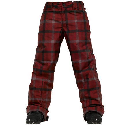 Ski Burton's Such A Deal Pant is in The White Collection, but don't get the wrong idea. Although this pant is packed with rider-friendly features, it won't set your mom back a pretty penny. So she'll be more open to the idea of that sweet rocker board you've had your eyes on - $62.97