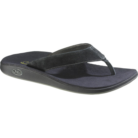 Surf Slide your feet into the Chaco Men's Kolb Flip Flops, slap on some aftershave, and call it all good for your family reunion or your buddy's beach wedding. - $71.96