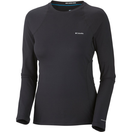 Sunscreen has a way of sliding off after a few hot, sweaty hours on a sunny trail; the Columbia Women's Coolest Cool Long-Sleeve Top offers a goop-free solution that also keeps you far cooler and more comfortable than any tee or cami could. That's because in addition to highly effective Omni-Shade protection, the shirt features Columbia's innovative Omni-ZERO technology, which means that the more you sweat, the cooler the fabric gets; at the same time, the Omni-Wick tech is moving moisture from your skin. Together, these technologies create the ultimate solution for backpackers, trekkers, and adventure athletes who need to stay cool, dry, and protected. - $51.96