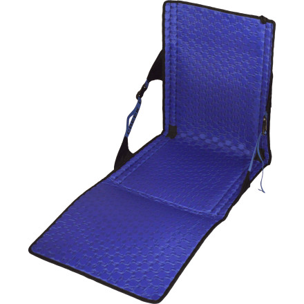 Camp and Hike Whether you're listening to a favorite band at an outdoor concert or watching the colors grade out deep in the backcountry, kick back and enjoy the scene with the versatile Crazy Creek Hex 2.0 PowerLounger Camp Chair. The bottom flap can be folded up for extra cushion, folded down for lounging, or the entire chair can be laid flat and used as a sleep pad. - $58.36