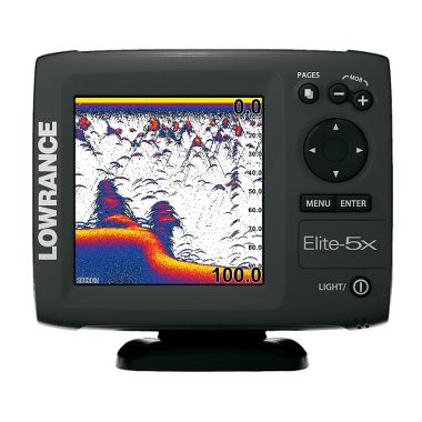 Fishing Lowrance® Elite-5X Color Reconditioned Sonar   $149.99