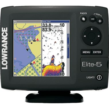 Fishing Lowrance® Elite 5 Color Sonar/GPS Combo $549.00