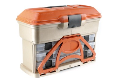 Fishing Flambeau T3 Front Loader The new T3 Front Loader by Flambeau Outdoors is a rugged tackle storage container meant to hold anything from tools to soft plastics. With its unique design, the ability to load and unload baits from the front makes for easy acces
