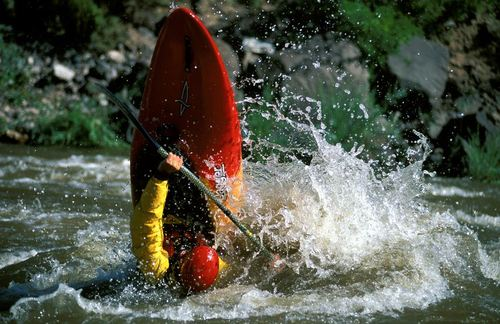 Kayak and Canoe vertical