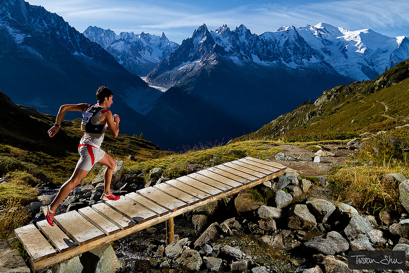 Fitness Kilian Jornet training in Chamonix