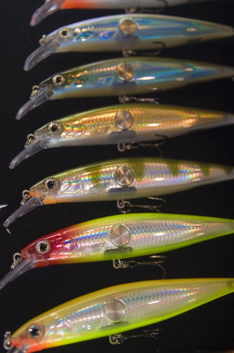 Fishing Rapala Clackin' Minnow runs 3 to 4 feet deep and comes in two sizes   $14.00