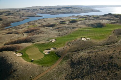 Golf Sutton Bay, South Dakota.  Golf, Fish and Hunt all at the same location.