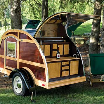 Camp and Hike Custom TearDrop Camping Trailer