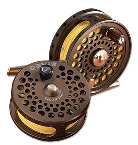 Flyfishing Orvis CFO Disc Drag Fly Fishing Reel - reminiscent of vintage fly reels   $210.00