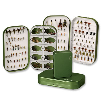 Flyfishing Orvis Lightweight Aluminium Fly Boxes   $20.00 to $30.00