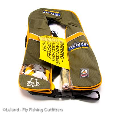 Flyfishing Outcast Anglers Inflatable PFD USCG Approved   $120.00