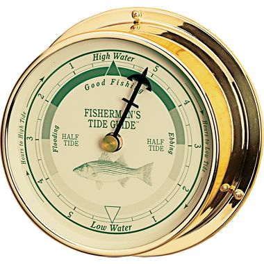 Fishing Fisherman's Tide Clock   $99.99