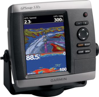 Fishing Garmin® GPSmap® 531S Chartplotter/Sounder with Dual-Beam Transducer   $699.99