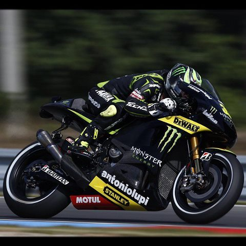 Motorsports Head tucked & wide open!