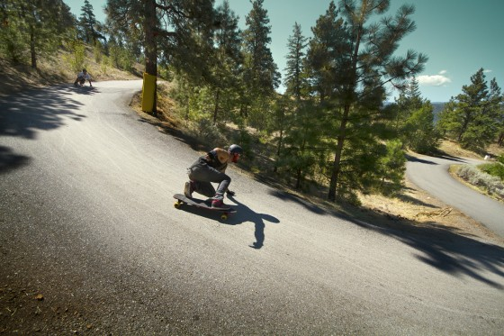 Skateboard one of the best downhill event in the world – Giants Head Freeride 5.
