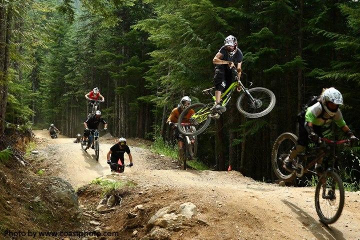 MTB James Cattanach/coastphoto.com — at Whistler Mountain Bike Park (The Official Page).