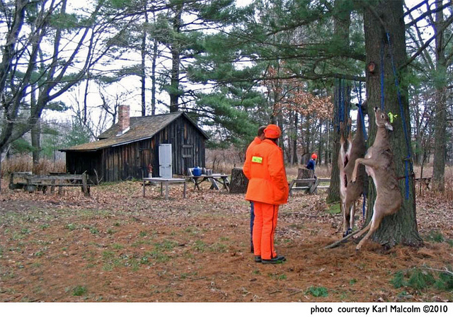 Hunting Deer Camp at the Leopold Shack