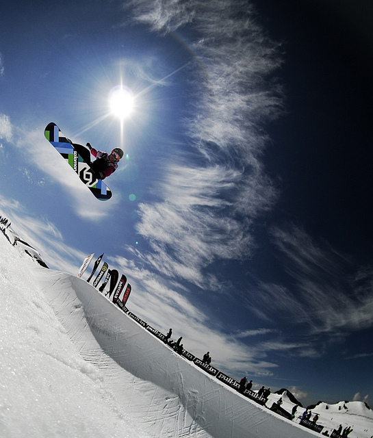 Snowboard Sophie Rodriguez, French Rider